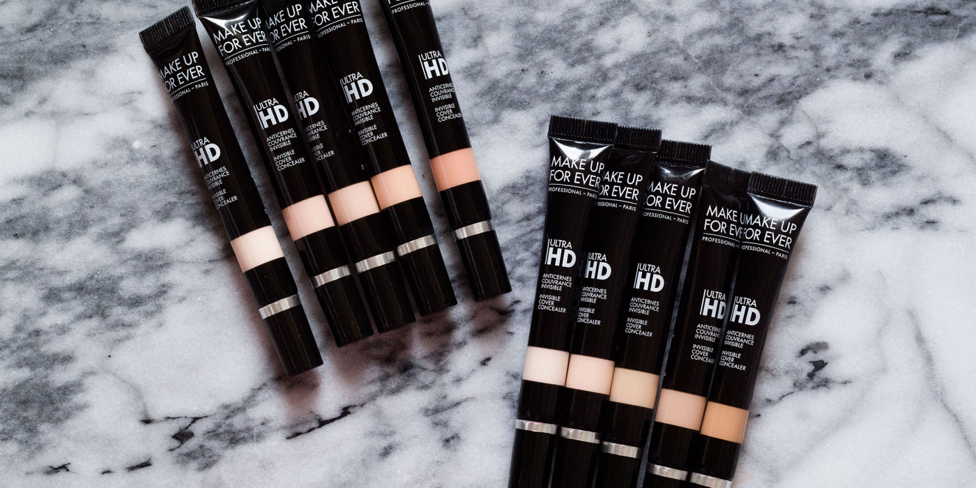 The Beauty Vanity | Make Up For Ever Ultra HD Invisible Cover Concealer Review Swatches