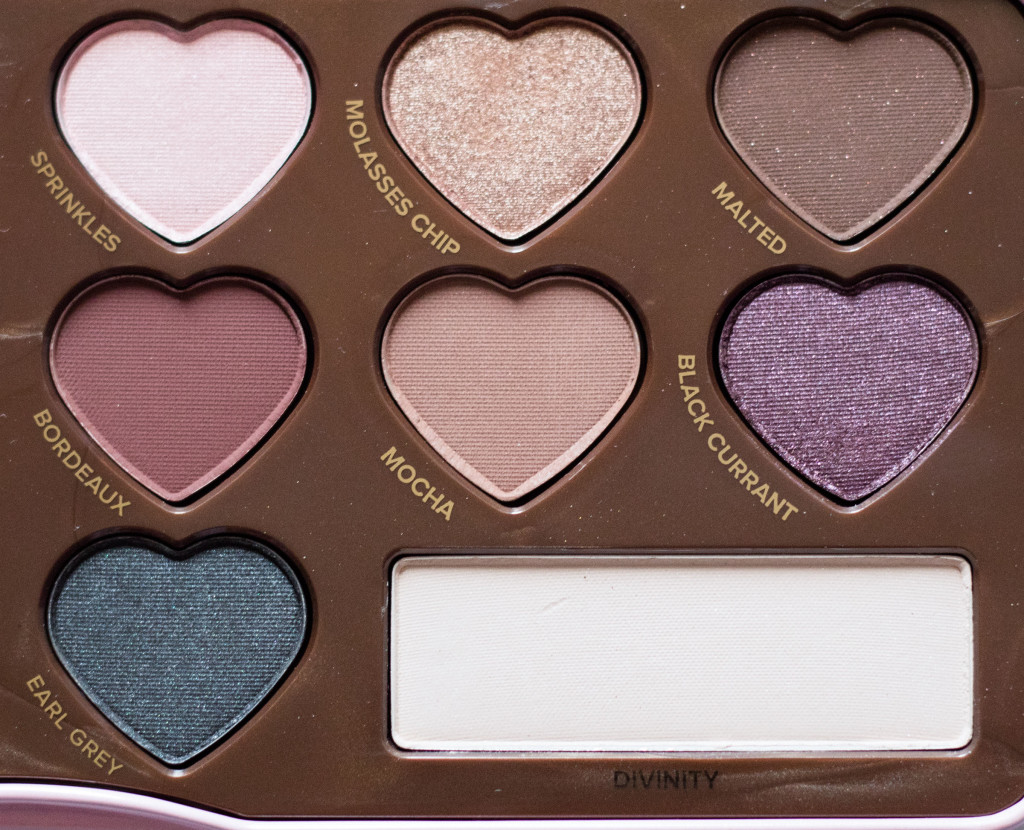 The Beauty Vanity | Too Faced Chocolate Bon Bons Palette Review Swatches