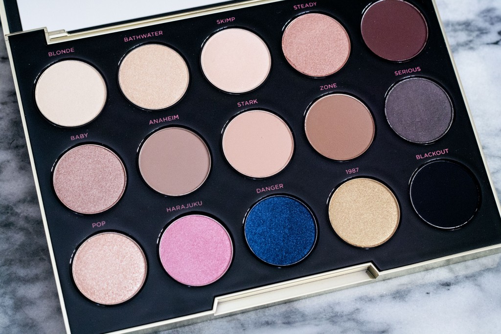 The Beauty Vanity | Urban Decay Gwen Stefani Palette Review Swatches
