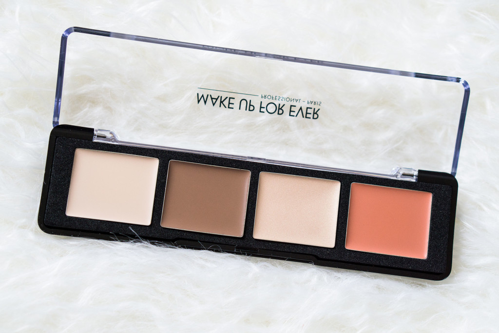 The Beauty Vanity Make Up For Ever Pro Sculpting Face Palette 20 Review Swatches