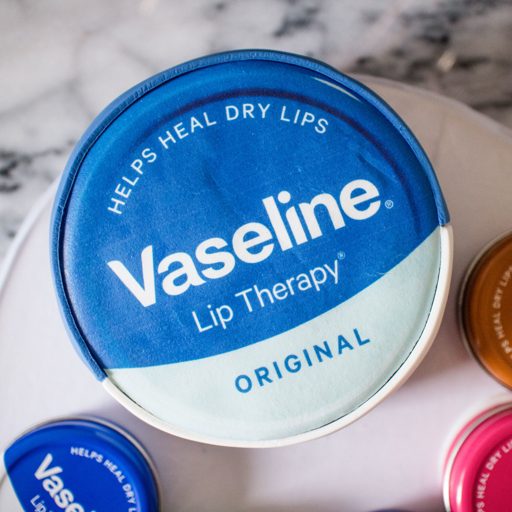 The Beauty Vanity | Vaseline Lip Therapy Tins Review
