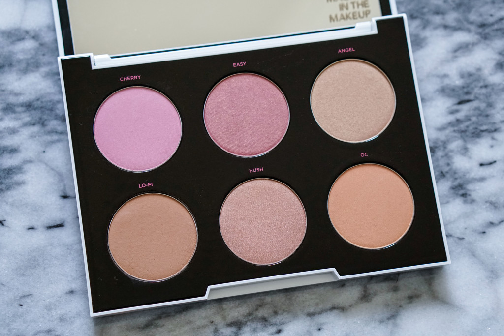 The Beauty Vanity | Urban Decay Gwen Stefani Blush Palette Review Swatches
