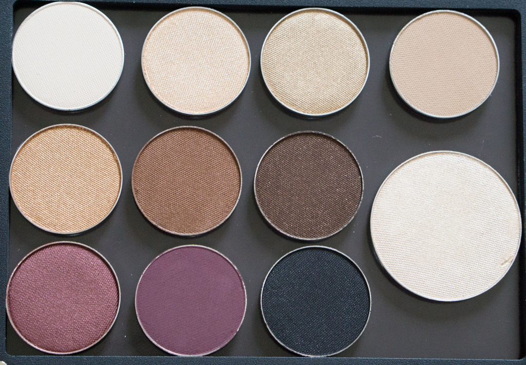 The Beauty Vanity | ittse eyeshadow palette review swatches