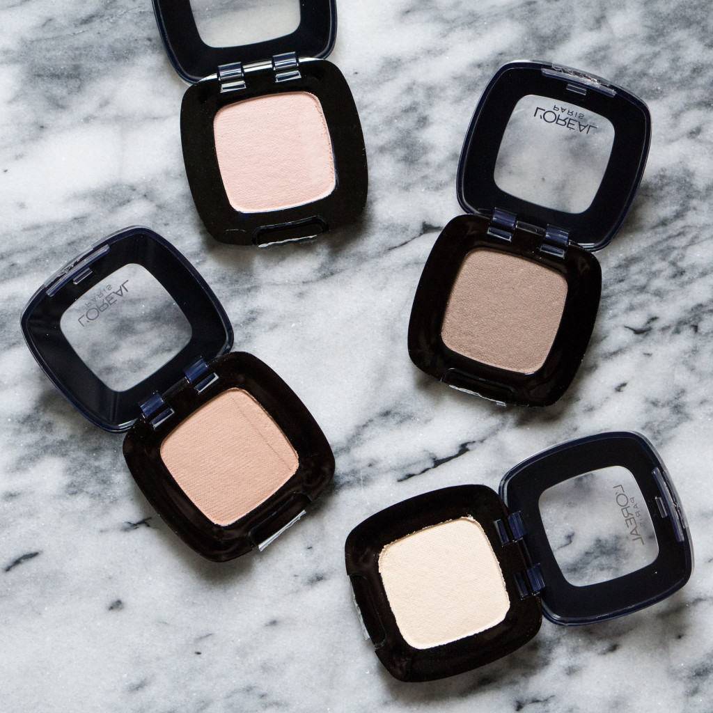 L'Oreal Colour Riche Eye Shadow Review Swatches