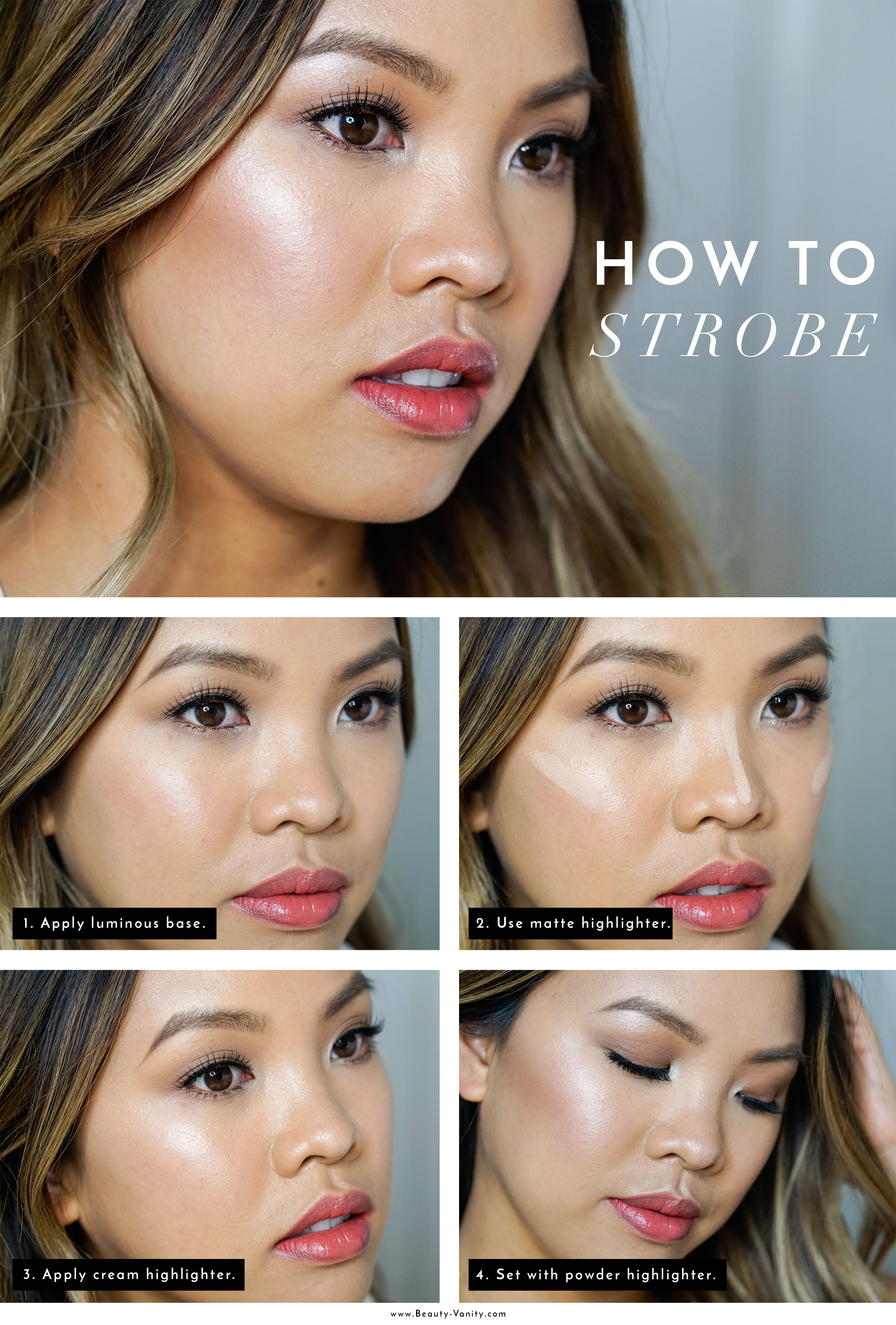 The Beauty Vanity | How to Strobing Tutorial