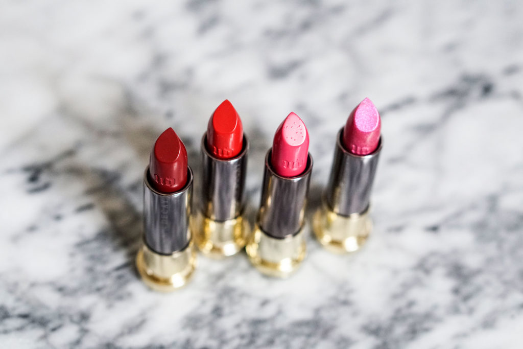 The Beauty Vanity Urban Decay Vice Lipstick Review Swatches