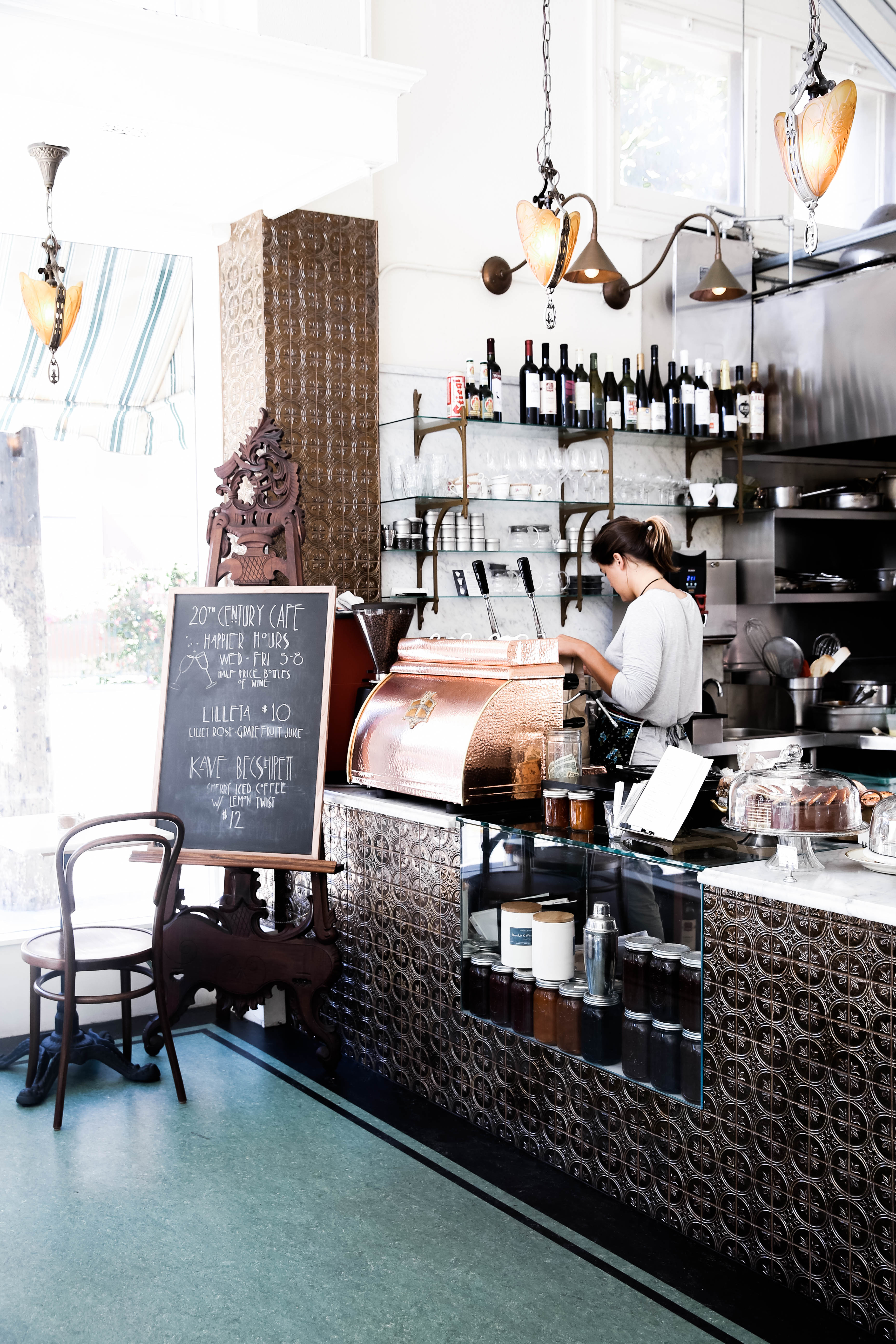 Best of San Francisco Coffee 20th Century Cafe | The Beauty Vanity