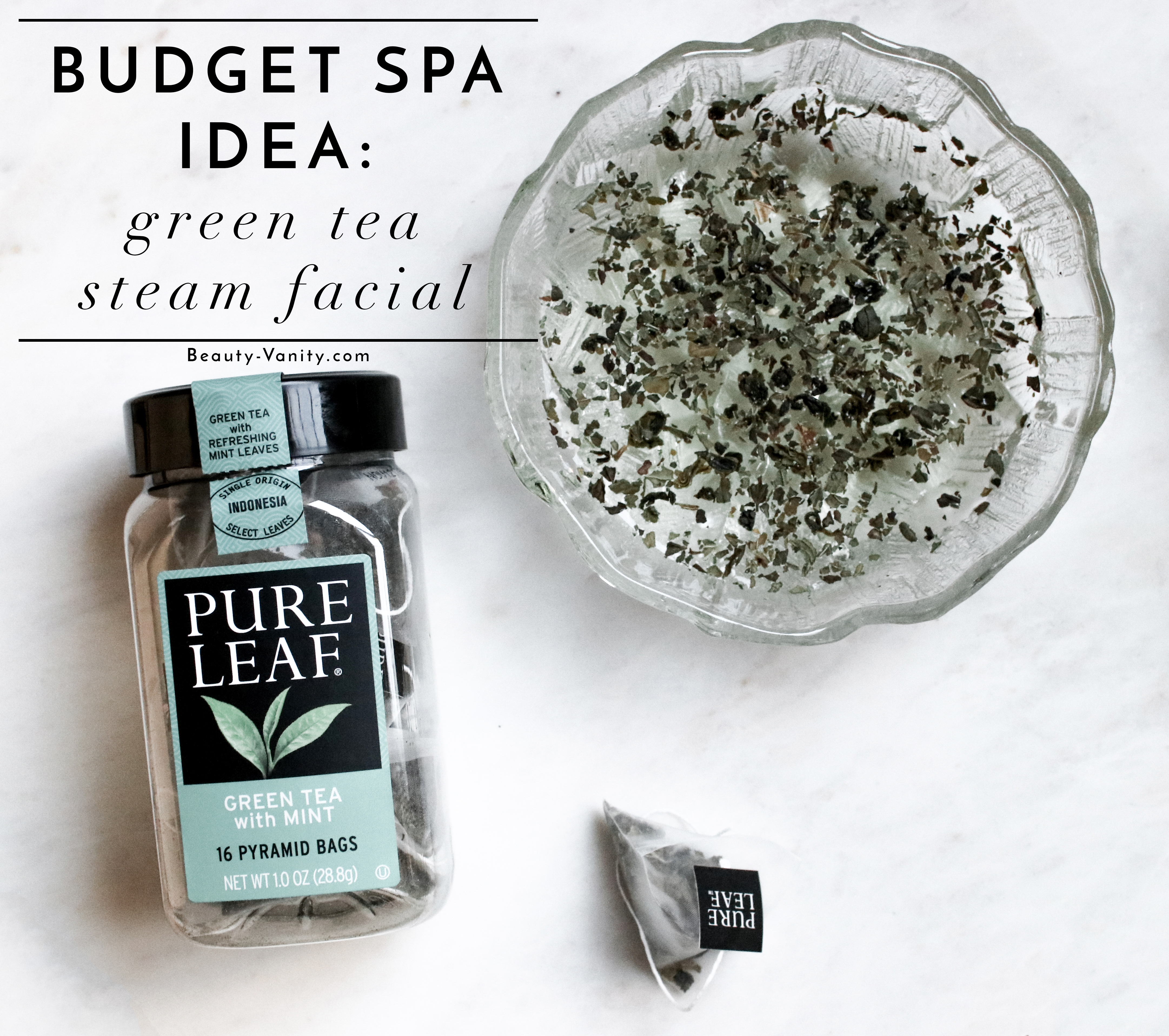 How to Green Tea Steam Facial | The Beauty Vanity