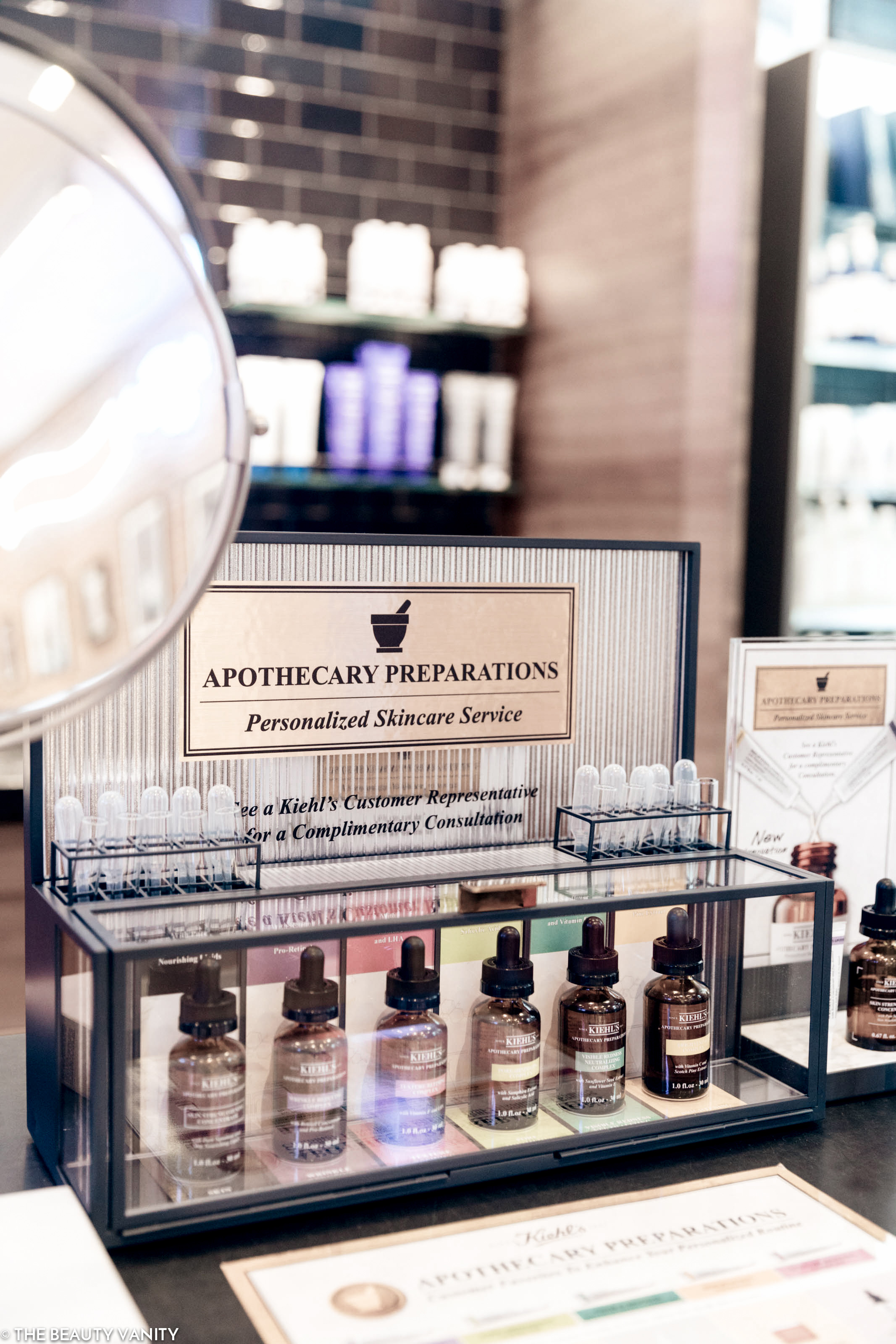 Kiehl's Fillmore San Francisco Apothecary Preparations | The Beauty Vanity