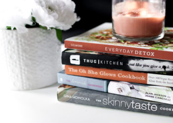 5 Healthy Cookbooks To Try + Meal Planning
