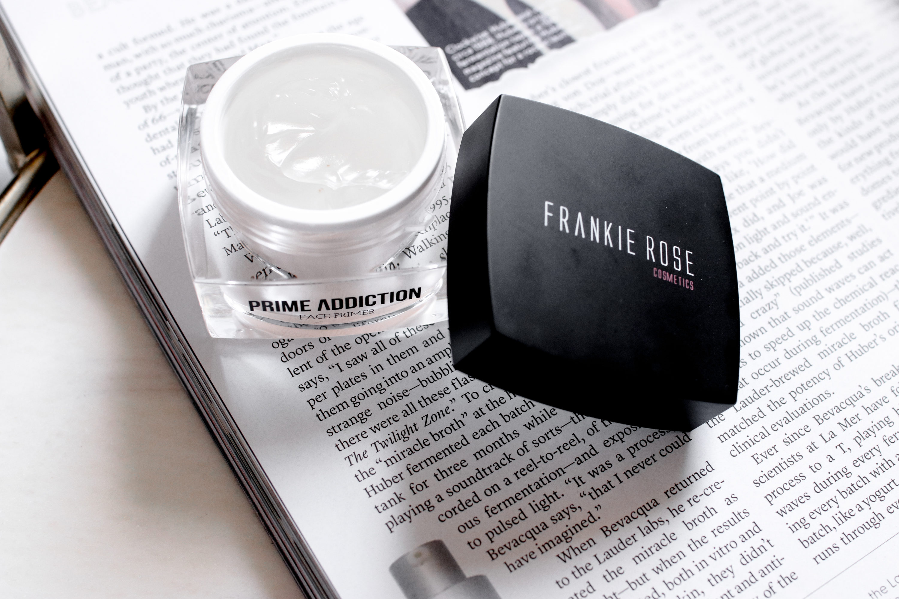 Frankie Rose Cosmetics Prime Addiction Review | The Beauty Vanity