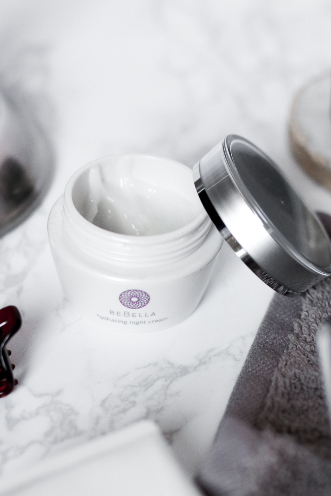 BeBella PROBIOTIC HYDRATING NIGHT CREAM Review | The Beauty Vanity