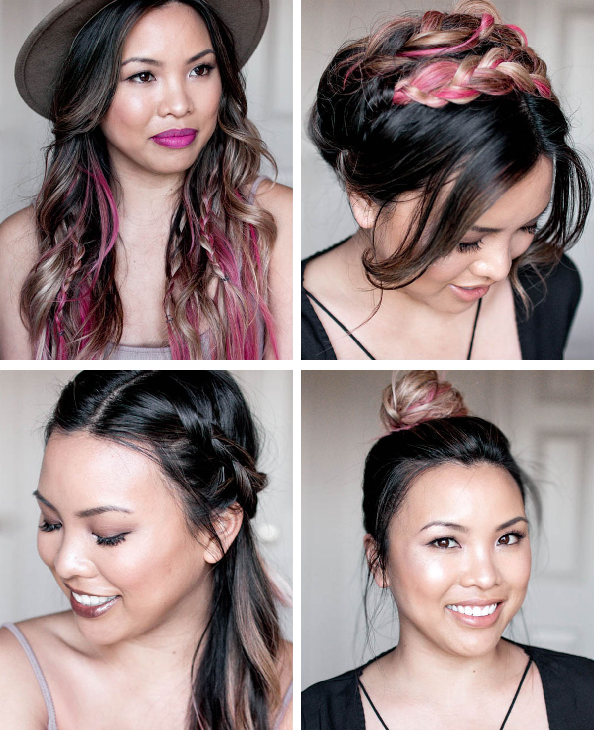 4 Festival Hairstyles Tutorial | The Beauty Vanity
