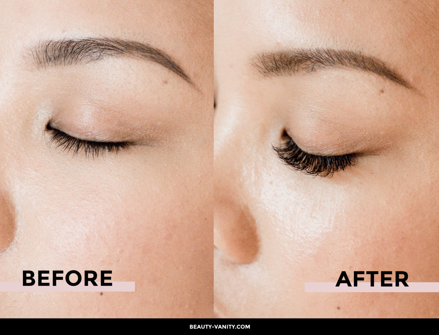 SASS San Francisco Eyelash Extensions Before & After | The Beauty Vanity