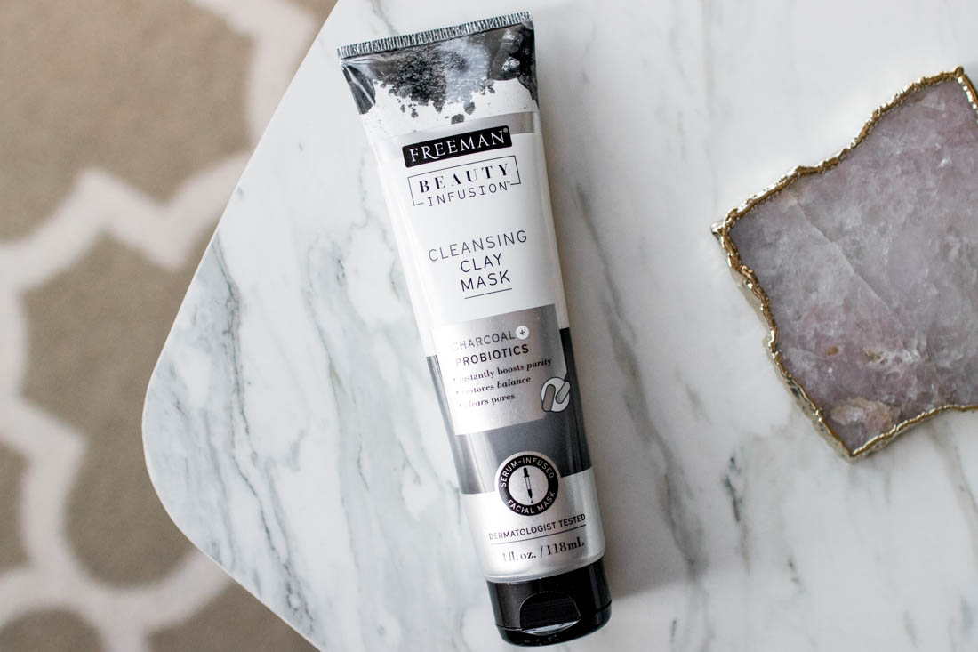 Freeman Beauty Beauty Infusion Cleansing Clay Mask Charcoal & Probiotics Review | The Beauty Vanity