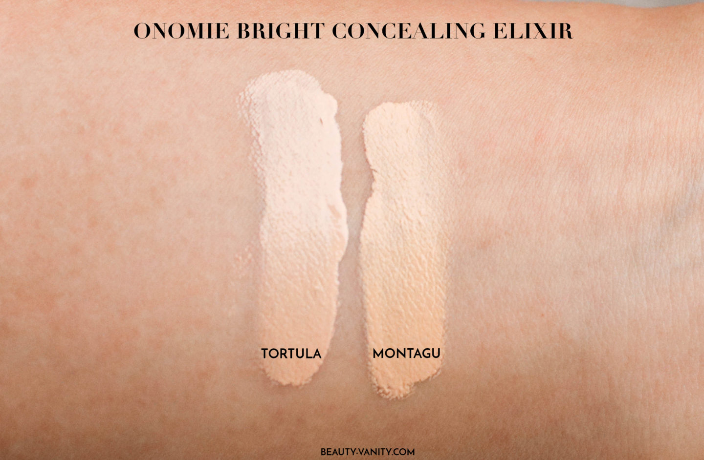 Onomie Bright Concealing Elixir Review | The Beauty Review | The Beauty Vanity