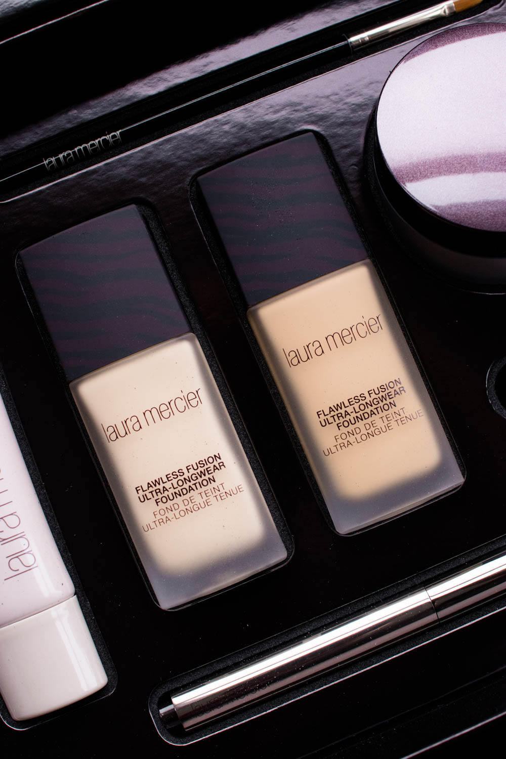 LAURA MERCIER Flawless Fusion Ultra-Longwear Foundation Review Swatches | The Beauty Review | The Beauty Vanity
