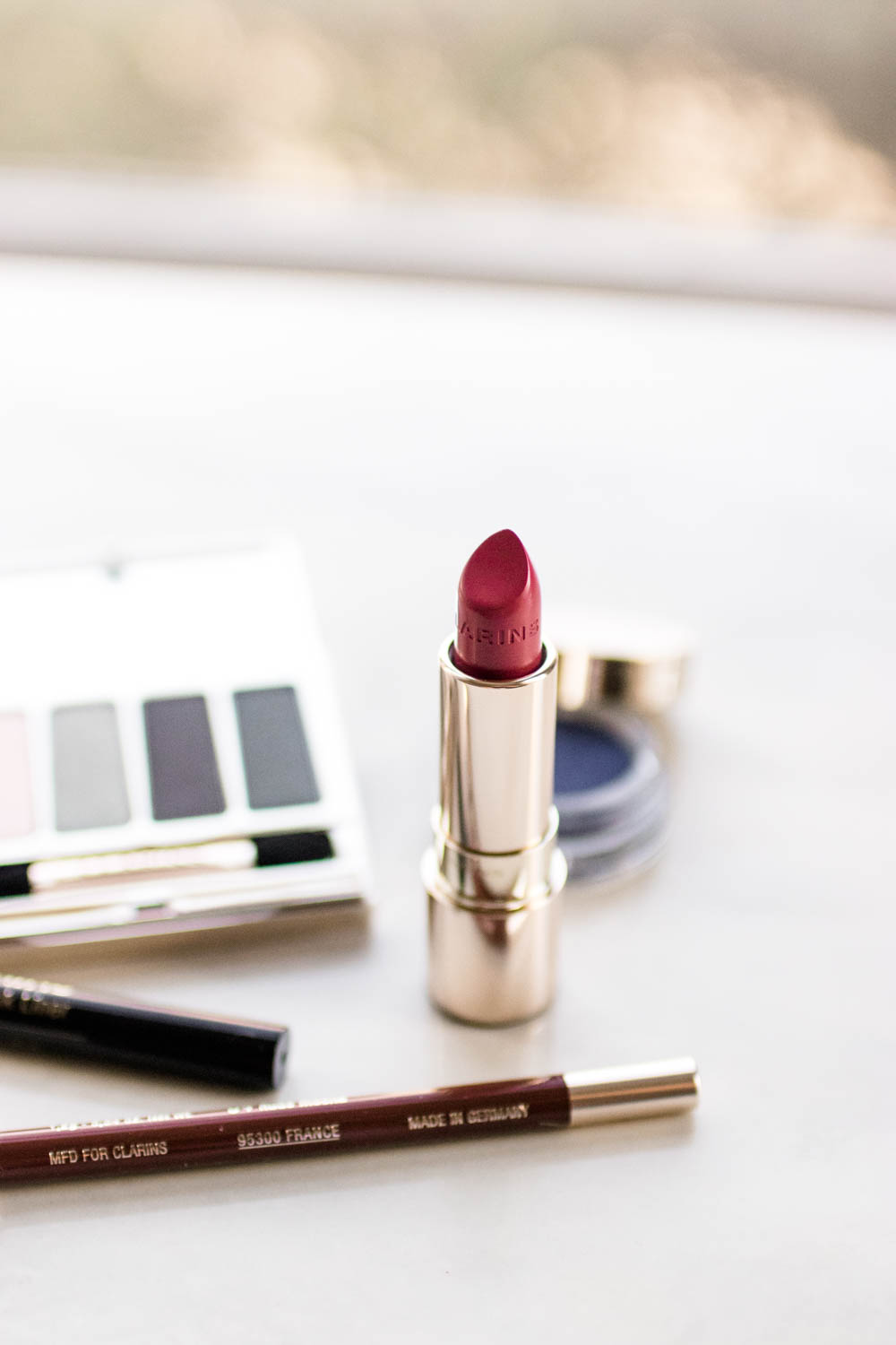 Clarins Colour Definition Fall 2011 Makeup Collection: Clarins Graphik Color Collection Review Swatches