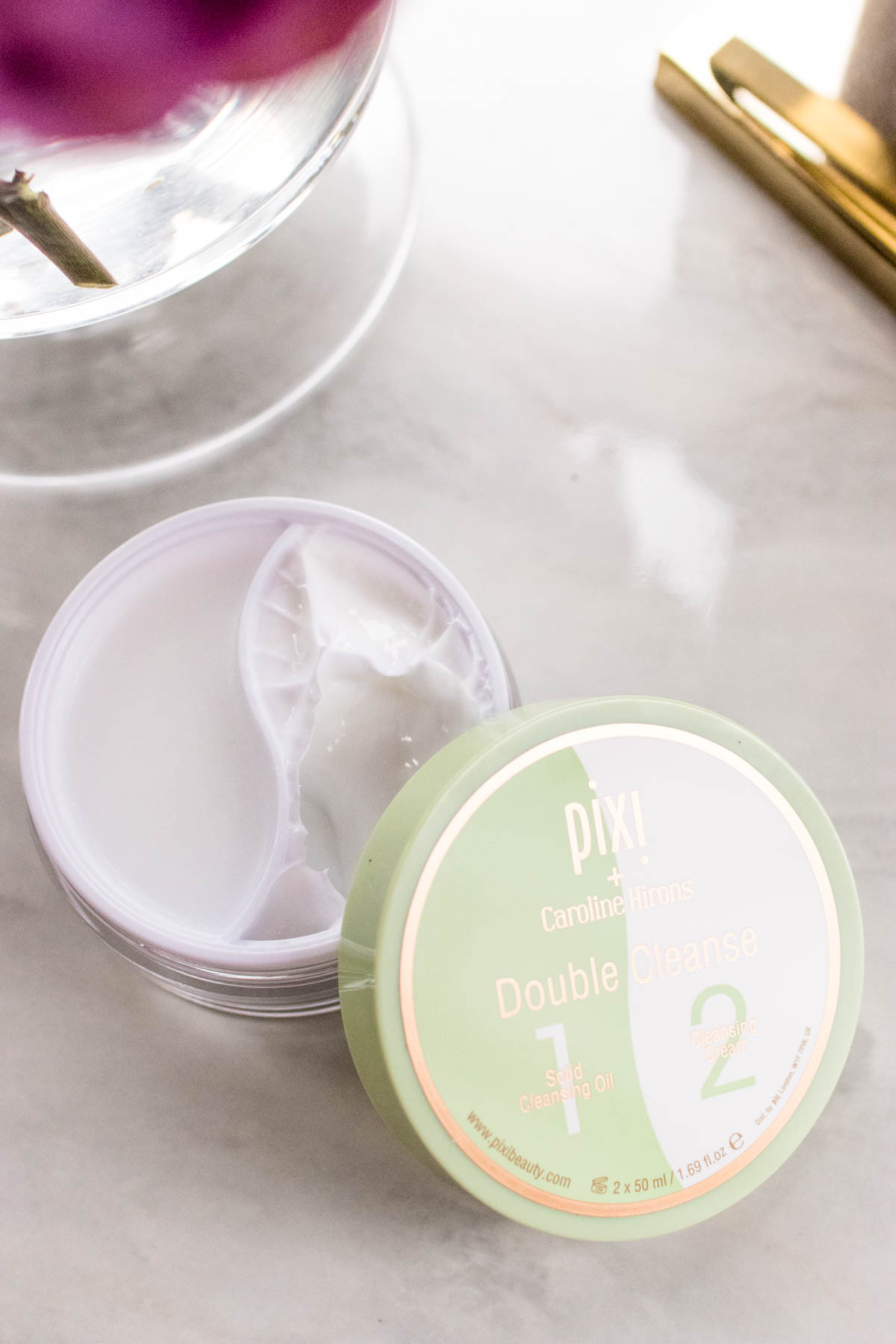 How to Remove Halloween Makeup | Pixi Beauty Caroline Hirons Double Cleanse Review | The Beauty Lesson | The Beauty Vanity
