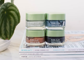 Reviewed: L'Oreal Pure-Clay Masks