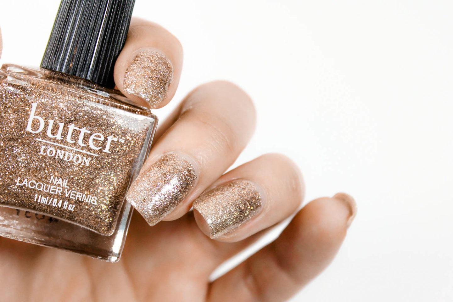 Try This Glitter Polish Nail Hack For A Perfect Glitter Mani - The ...